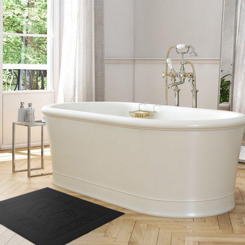 Dywanik łazienkowy ANTYPOŚLIZGOWY 50x70 210-34 czarny