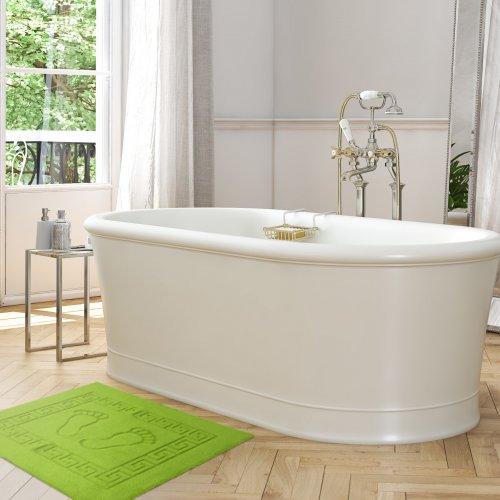 Dywanik łazienkowy ANTYPOŚLIZGOWY 50x70 210-24 seledynek