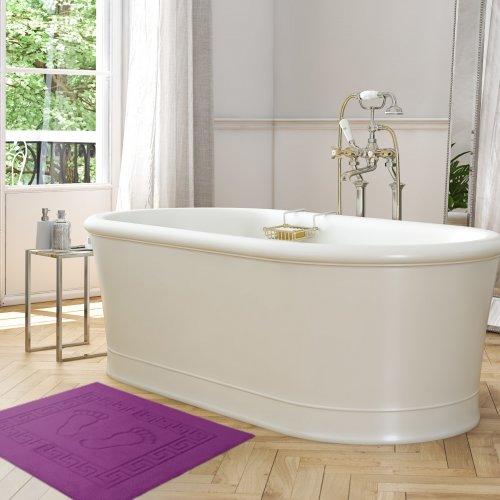 Dywanik łazienkowy ANTYPOŚLIZGOWY 50x70 210-43 fuksja