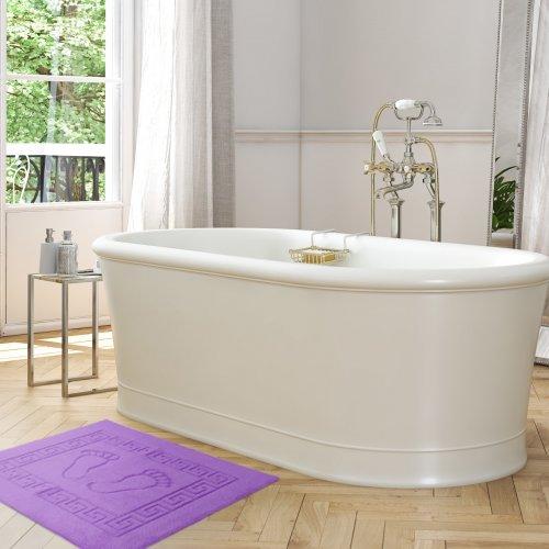 Dywanik łazienkowy ANTYPOŚLIZGOWY 50x70 210-19 lila