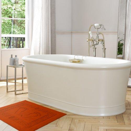 Dywanik łazienkowy ANTYPOŚLIZGOWY 50x70 210-30 rudy