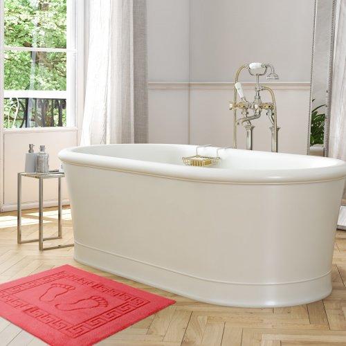 Dywanik łazienkowy ANTYPOŚLIZGOWY 50x70 210-70 malinowy