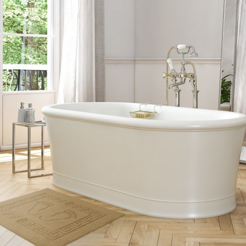 Dywanik łazienkowy ANTYPOŚLIZGOWY 50x70 210-03 beżowy