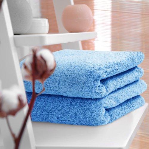 HOTELOWY RĘCZNIK 70x140 błękit 500GSM
