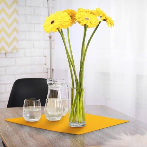 Serwetka bankietowa żółta standard