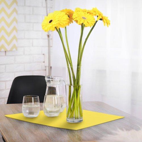 Serwetka bankietowa żółty pastel standard