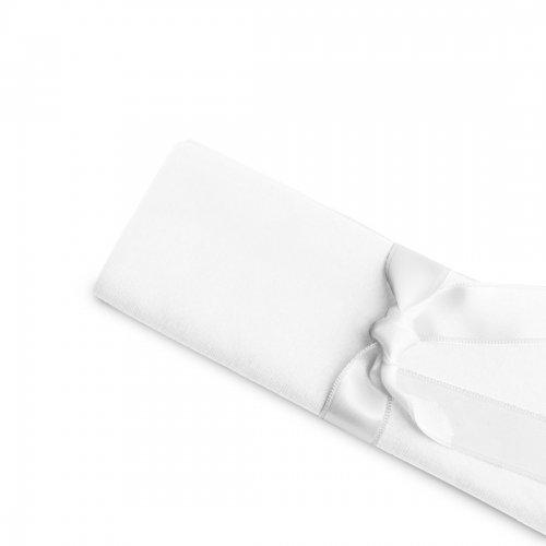 Serwetka bankietowa biała standard