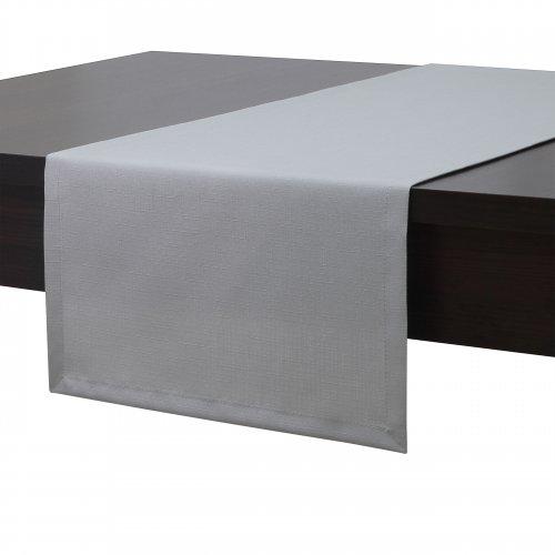 Bieżnik na stół plamoodporny PREMIUM 414-31 szary jasny