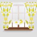 Zasłony GOTOWE 145x160 zestaw 169-05 PANEL FIRANA WOAL 145x130