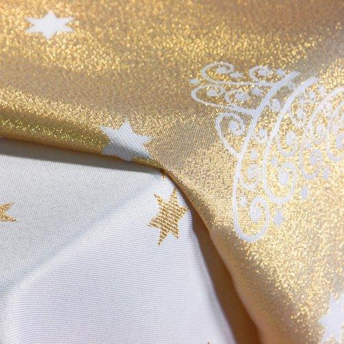 Obrus Świąteczny CHRISTMAS TREE GOLD 281-63 złoty