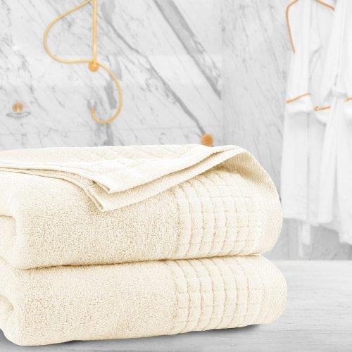 Ręcznik frotte PAOLO 50x90 323-02 ecru