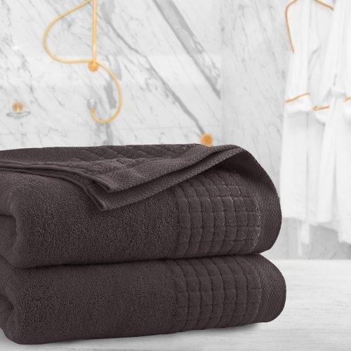 Ręcznik frotte PAOLO 70x140 323-29 brąz