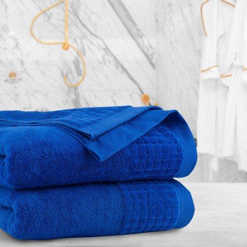 Ręcznik frotte PAOLO 70x140 323-71 szafir