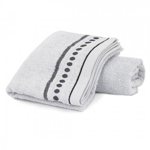 Ręcznik frotte Zwoltex TRIO 70x140 320-31 szary