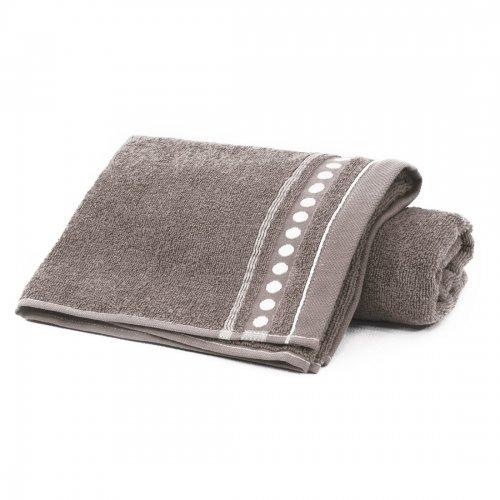 Ręcznik frotte Zwoltex TRIO 70x140 320-58 mocca
