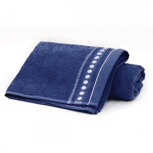 Ręcznik frotte Zwoltex TRIO 70x140 320-69 granatowy