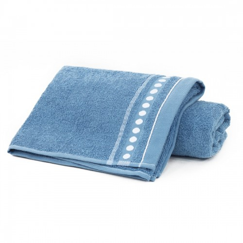 Ręcznik frotte Zwoltex TRIO 70x140 320-90 niebieski