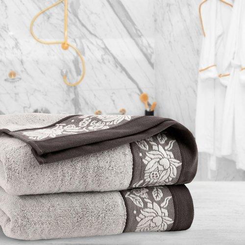 Ręcznik frotte Zwoltex KARIF 50x100 321-02 ecru