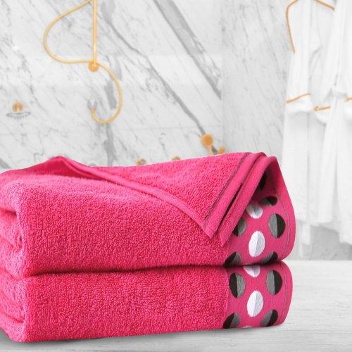 Ręcznik frotte Zwoltex ZEN 50x90 322-11 róż mocny