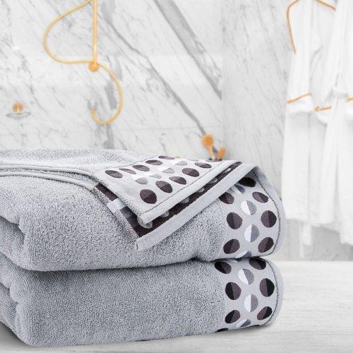Ręcznik frotte Zwoltex ZEN 50x90 322-31 szary