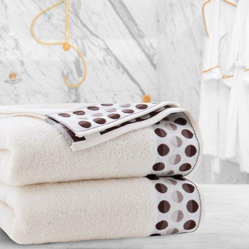 Ręcznik frotte Zwoltex ZEN 70x140 322-02 ecru