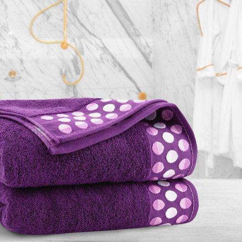 Ręcznik frotte Zwoltex ZEN 70x140 322-20 wrzos