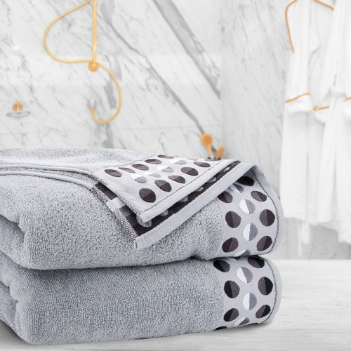 Ręcznik frotte Zwoltex ZEN 70x140 322-31 szary
