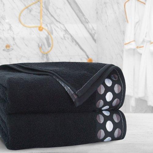 Ręcznik frotte Zwoltex ZEN 70x140 322-34 czarny