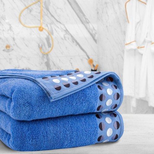 Ręcznik frotte Zwoltex ZEN 70x140 322-90 niebieski