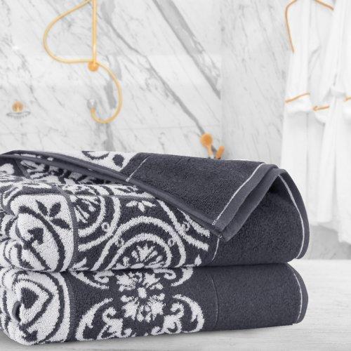 Ręcznik frotte Zwoltex KARIF 70x140 326-61 grafit