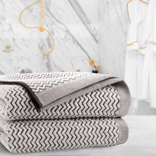 Ręcznik frotte Zwoltex KARIF 50x100 327-02 ecru