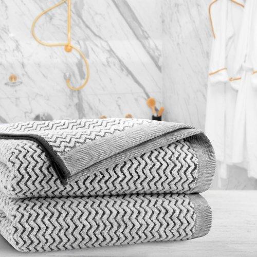 Ręcznik frotte Zwoltex KARIF 70x140 327-31 szary