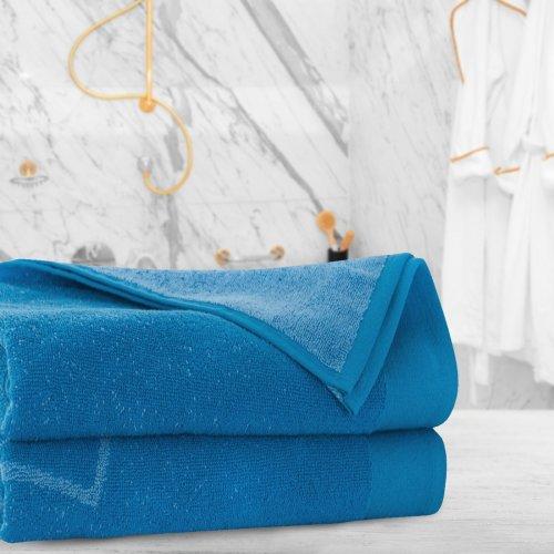 Ręcznik frotte Zwoltex 50x90 324-90 niebieski