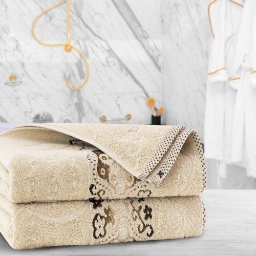 Ręcznik frotte Zwoltex VICTORIA 70x140 325-03 beż