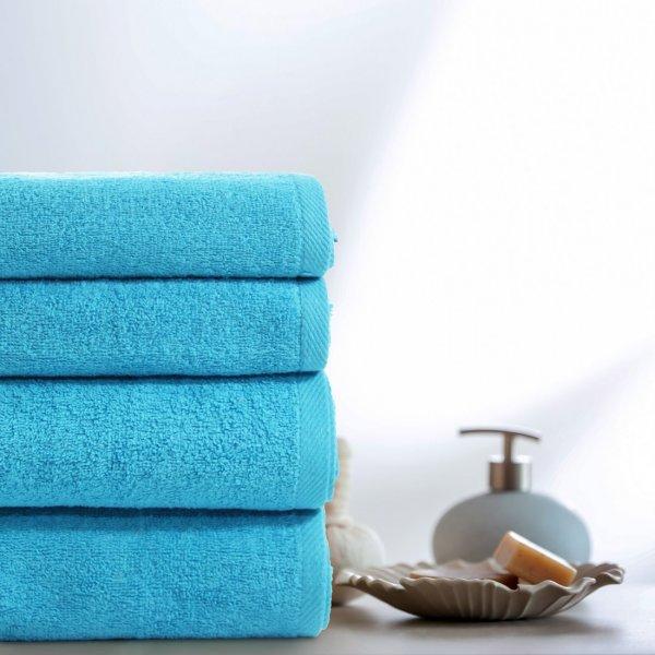 Komplet ręczników VENUS 4-częściowy 246-91 turkus jasny