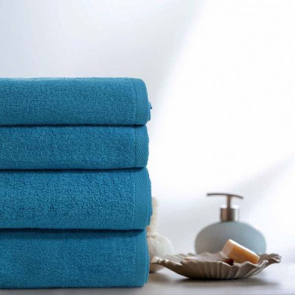 Komplet ręczników VENUS 4-częściowy 246-92 turkus ciemny