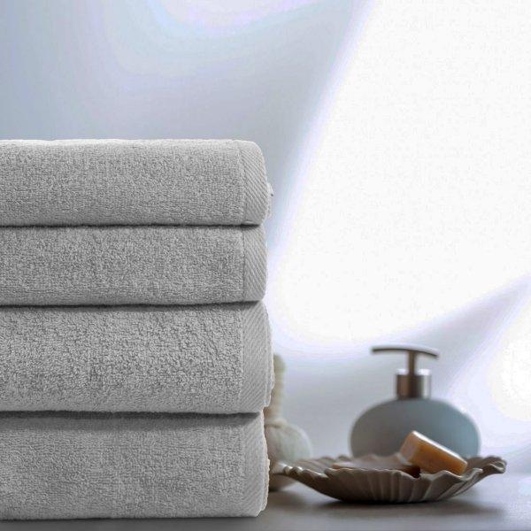 bec15181 Komplet ręczników VENUS 4-częściowy 246-31 szary jasny - Sklep internetowy  TanieObrusy.pl