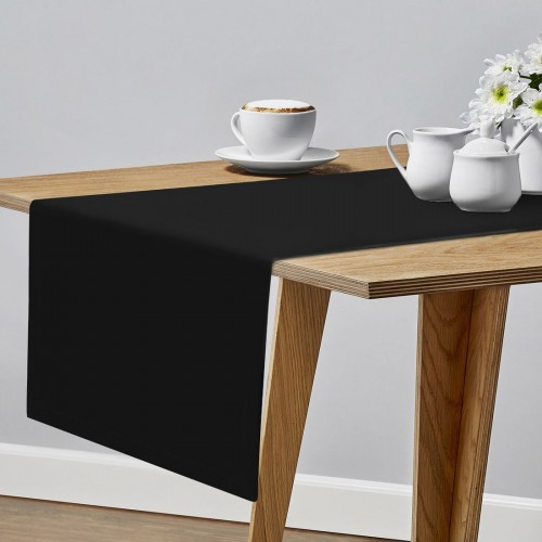 Bieżnik plamoodporny na stół PROFESSIONAL GS 160-34 czarny