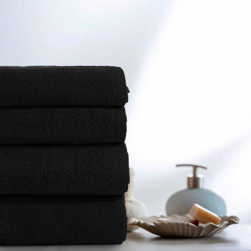 Komplet ręczników VENUS 4-częściowy 246-34 czarny