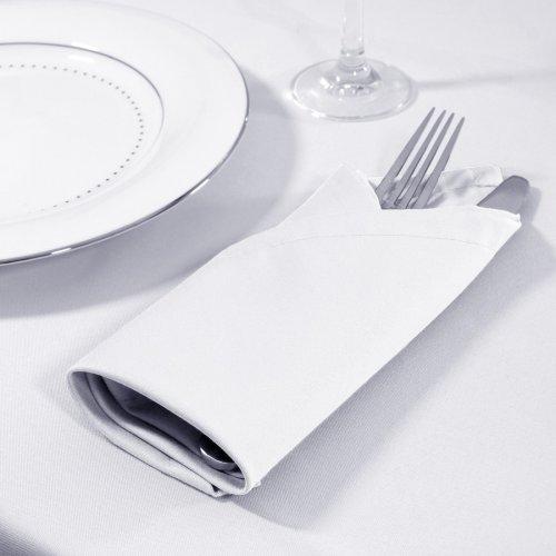 Serwetka bankietowa PROFESSIONAL GASTRO 160-01 biała