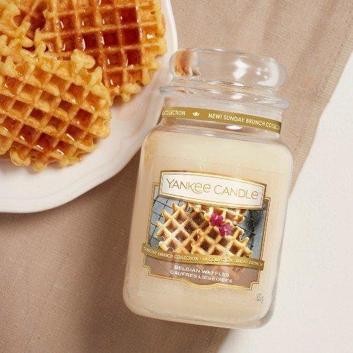 Świeca zapachowa Yankee Candle BELGIAN WAFFLES Duży słoik