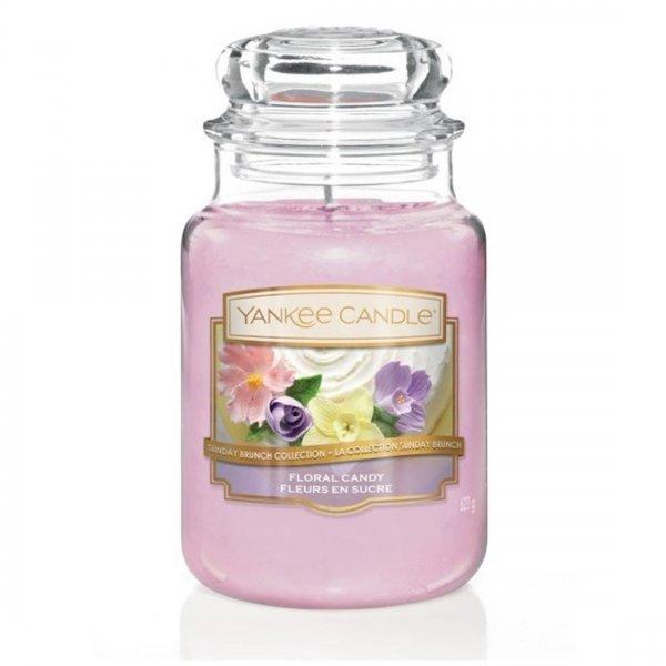 Świeca zapachowa Yankee Candle FLORAL CANDY duży słoik