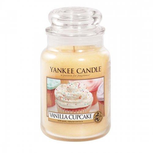 Świeca zapachowa Yankee Candle VNILLA CUPCAKE duży słoik