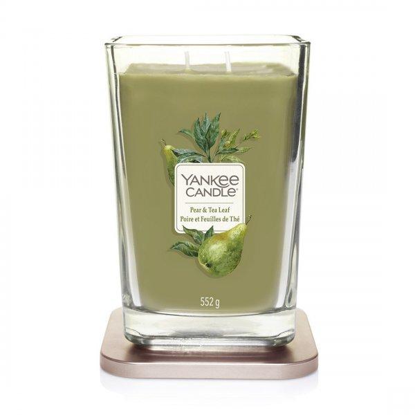 Świeca zapachowa Yankee Candle PEAR & TEA LEAF duży wazon